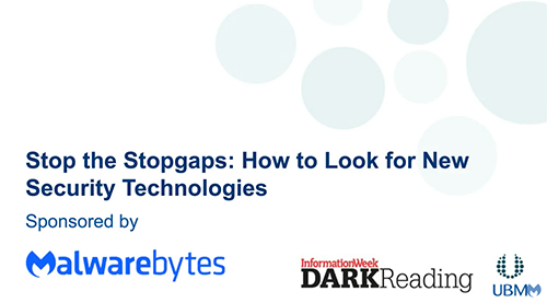 Stop the Stopgaps: How to Look for New Security Technologies